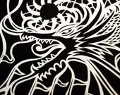 Golden Dragon Fine Art Print Limited Edition