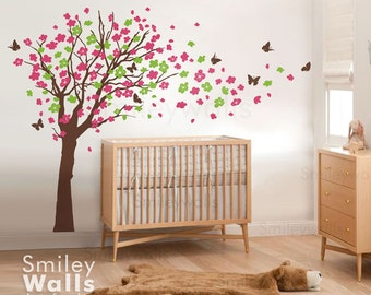 Butterflies Wall Decal Set Of Butterflies Wall Decal - Vinyl wall decals butterflies