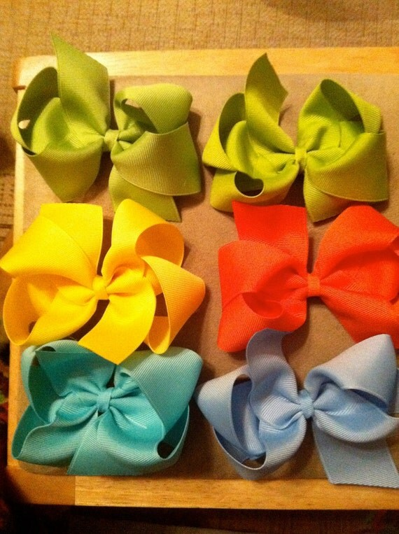 Hair bows for J. Benz