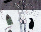 Handmade Textile Wall Hanging - Story Textile