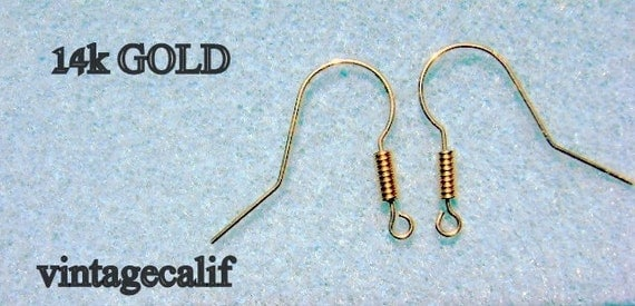14k GOLD FRENCH EARWIRES