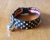 Halloween Adjustable and Reversible Cat Collar