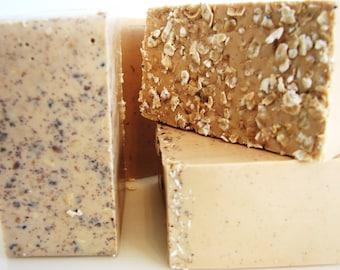 SOAP- Oatmeal Almond Soap - Handmade Soap - Fresh Soap- Soap Gift
