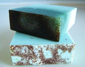 Woodland - Christmas Soap - Fir Needle Soap - Pine Soap - Vegan Handmade Soap- Soap Gift