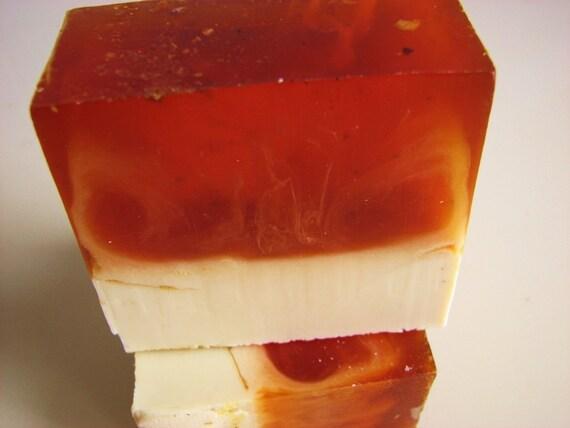 SOAP- Tangerine Birch Soap - Vegan Soap - Handmade Soap- Soap Gift