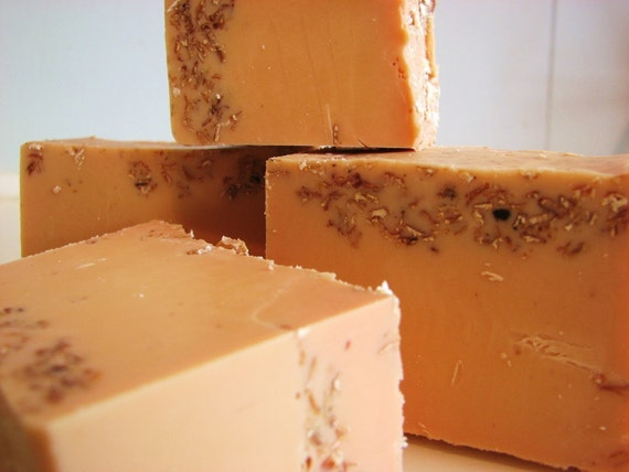 Orange Vanilla Handmade Coconut Milk Soap