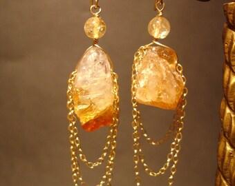 Strike Gold Earrings