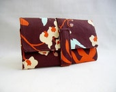 The KF Everything Wallet In Ginseng Orchid Chocolate