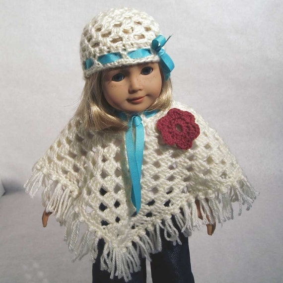 PDF - Sweet Doll Poncho and Hat - NEW