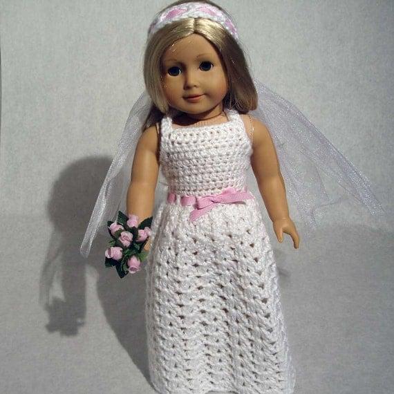 Beautiful Bride Doll Crochet Pattern PDF