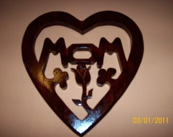 Handcrafted Symbol for MOM