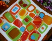 Sweet Sweet Candy Fused Glass Dish