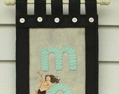 Personalized Mermaid Name Banner