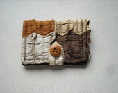 Cute puffy silk tiny wallet. Free shipping.