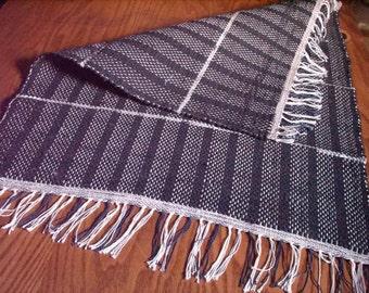 Hand Woven Rag Rug (Twlight/31-B) - 013b