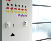 Invaders Wall Decals