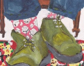 My Old Green Shoes