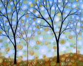 Tree art print ... Essence of the Day -- 8 x 10 giclee, by Amy Giacomelli