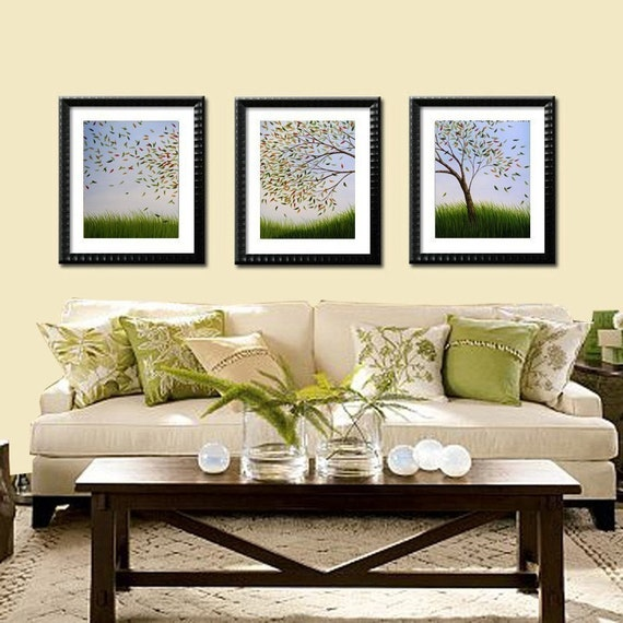 Blowing Away -- Set of 3 --  8 x 10 Glossy Prints