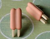 Earrings - Dreamy Orange Creamsicles