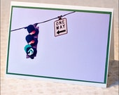 One Way Or Another - Photo greeting card