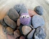 Purple Low Brow Pet Pebble
