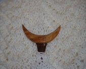 Super Moon Walnut and Maple Burl hair stick      Free US Shipping