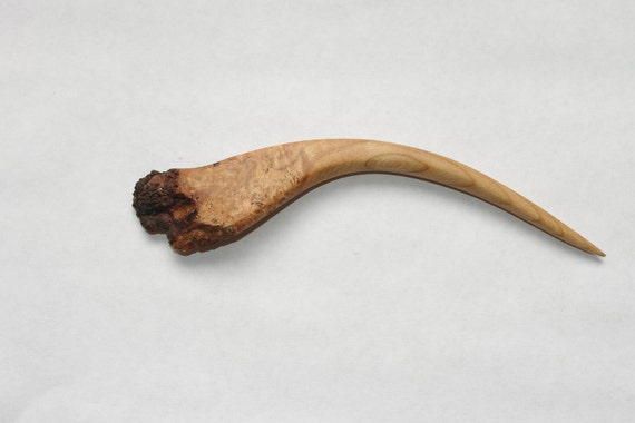 Live Edge Cherry Burl Hair Stick Free US Shipping