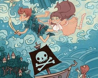 Peter Pan Children's Lit poster