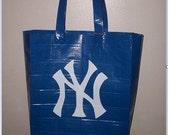 Yankees Duct Tape Tote Bag