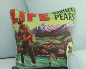 Fly Fishing Throw Pillow Cover Cabin SALE IN STOCK