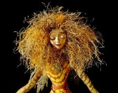 Art Doll Spirit-Lady of Unakite-OOAK-(Similar Doll Made by Request)