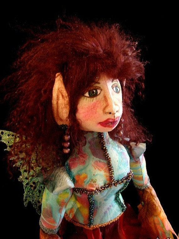 Fairy Elf-Art Doll-Tianna  (Made by Request a Similar Doll)