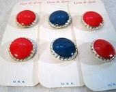 Three Pairs Of Casa de Leon Buttons