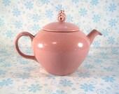 USA Made Rose Pink Teapot