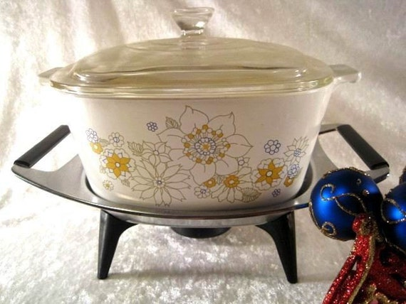 Vintage Corning Ware Party Buffet Casserole W By Bbbdesigns