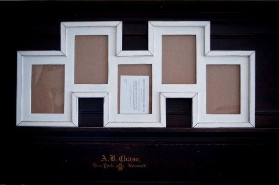 collage picture frame multi 5 opening staggered 5x7. Black Bedroom Furniture Sets. Home Design Ideas