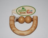 Wooden Teether\/Rattle