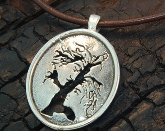 Adam & Eve Tree Of Life Pendant