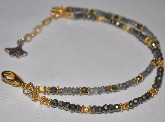 Double Gemstone Bracelet