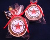 Christmas Ornaments Freedom and Glory mini quilled red, white, and blue Star-shaped Ornaments gift packaged star decorations patriotic decor