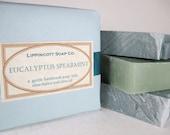 Eucalyptus Spearmint Cold Process Soap Bar