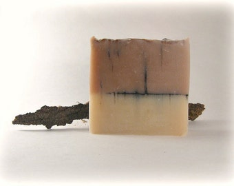 Tobacco Caramel Cold Process Soap, Men's Soap, Handmade Soap Bar, Phthalate Free, Men's Gift, Orange, Caramel, Tobacco, Musk, Patchouli