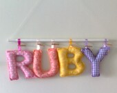 Personalized Baby Name Mobile - for Sarah