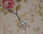 Titanic Jewelry Rose's Silver Plated Flying Necklace