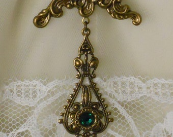 Titanic Jewelry Ruth's Swarovski Boarding Pin