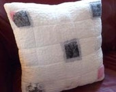 Nuno Felted Wool Silk Pillow