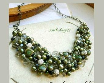Tutorial - Crochet necklace