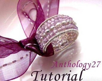 Tutorial - Ring with Stones and Fresh Water Pearls