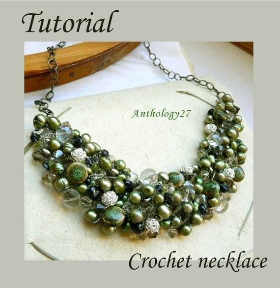 NEW Tutorial - Crochet necklace